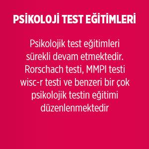 Psikolojik Test Eğitimleri